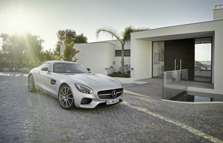 Mercedes-AMG GT – the 911 fighter is finally revealed Image #270439