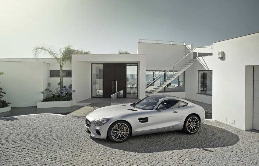 Mercedes-AMG GT – the 911 fighter is finally revealed Image #270440