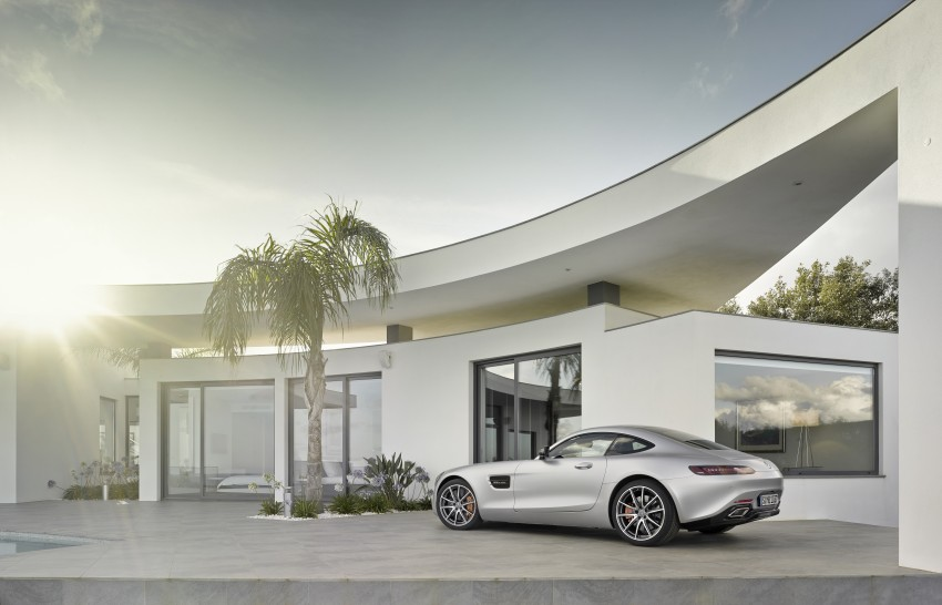 Mercedes-AMG GT – the 911 fighter is finally revealed Image #270442