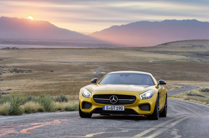 Mercedes-AMG GT – the 911 fighter is finally revealed Image #270484