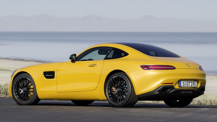 Mercedes-AMG GT – the 911 fighter is finally revealed Image #270488