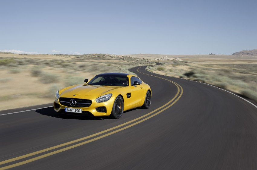 Mercedes-AMG GT – the 911 fighter is finally revealed Image #270489