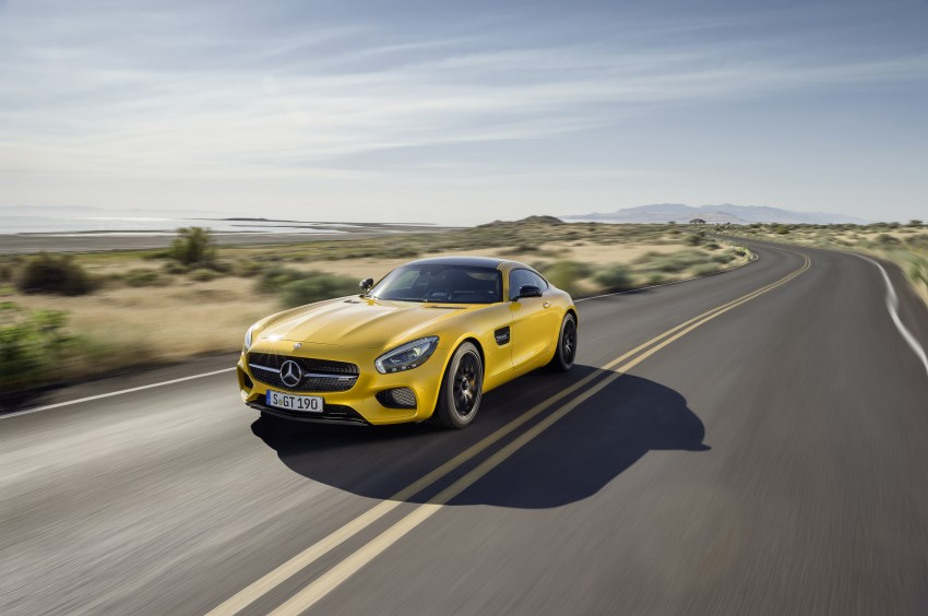 Mercedes-AMG GT – the 911 fighter is finally revealed Image #270462