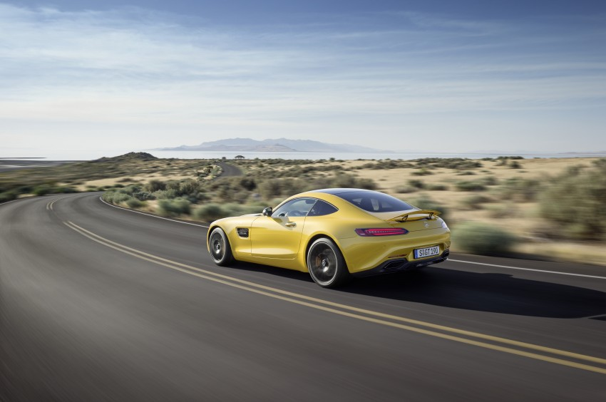 Mercedes-AMG GT – the 911 fighter is finally revealed Image #270490