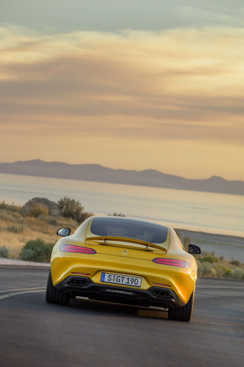 Mercedes-AMG GT – the 911 fighter is finally revealed Image #270463