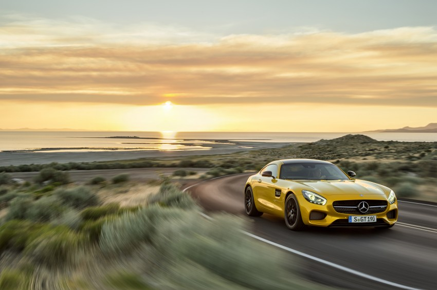 Mercedes-AMG GT – the 911 fighter is finally revealed Image #270464