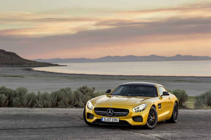 Mercedes-AMG GT – the 911 fighter is finally revealed Image #270466