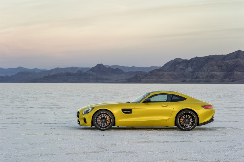 Mercedes-AMG GT – the 911 fighter is finally revealed Image #270492