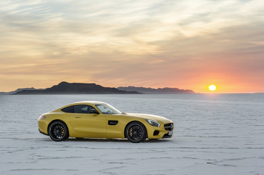 Mercedes-AMG GT – the 911 fighter is finally revealed Image #270493