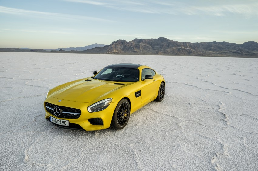 Mercedes-AMG GT – the 911 fighter is finally revealed Image #270494