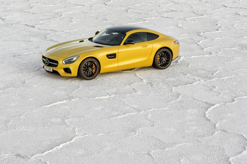 Mercedes-AMG GT – the 911 fighter is finally revealed Image #270467