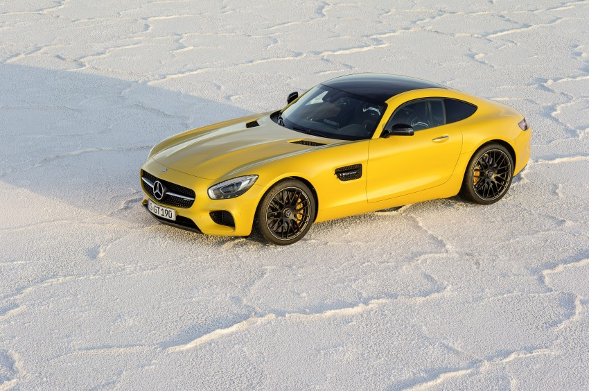 Mercedes-AMG GT – the 911 fighter is finally revealed Image #270495