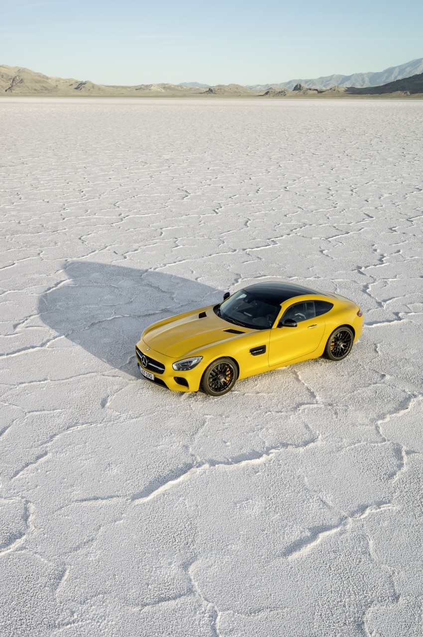 Mercedes-AMG GT – the 911 fighter is finally revealed Image #270468
