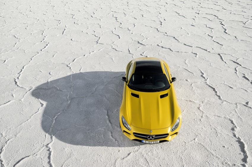 Mercedes-AMG GT – the 911 fighter is finally revealed Image #270469