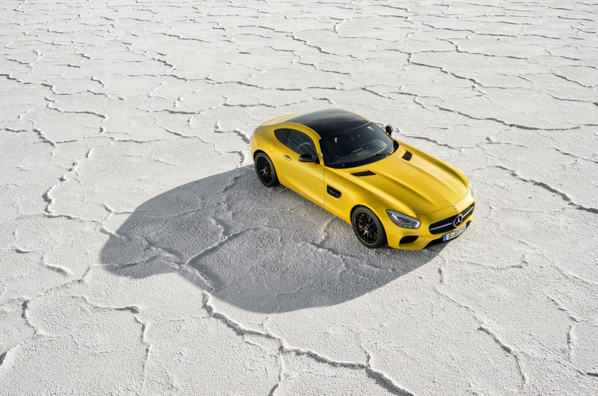 Mercedes-AMG GT – the 911 fighter is finally revealed Image #270470