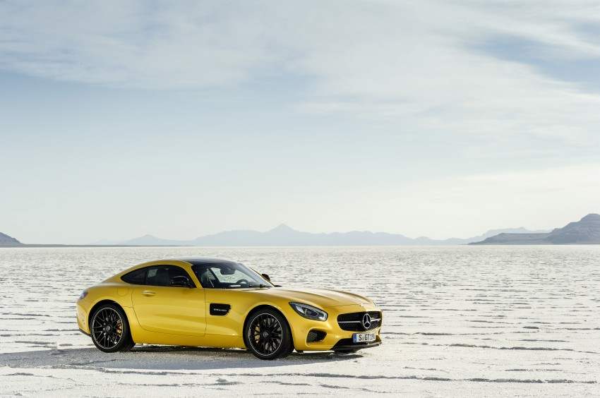 Mercedes-AMG GT – the 911 fighter is finally revealed Image #270497