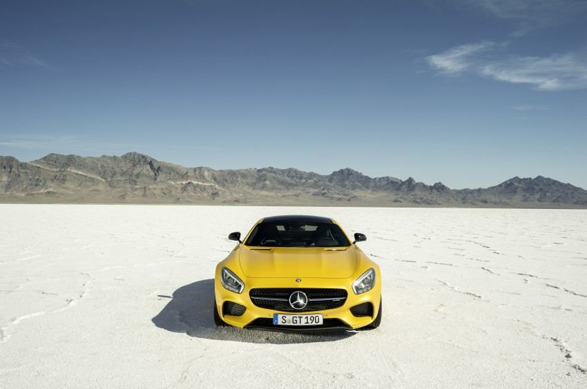 Mercedes-AMG GT – the 911 fighter is finally revealed Image #270498