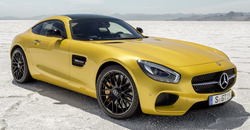 Mercedes-AMG GT – the 911 fighter is finally revealed Image #270472
