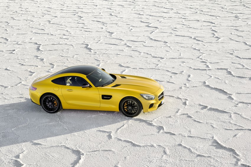 Mercedes-AMG GT – the 911 fighter is finally revealed Image #270473