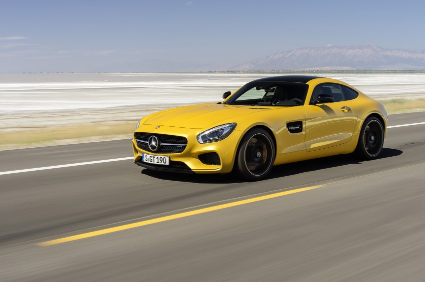 Mercedes-AMG GT – the 911 fighter is finally revealed Image #270502