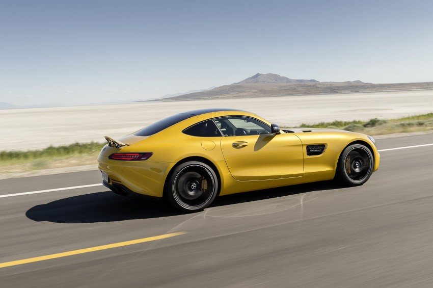 Mercedes-AMG GT – the 911 fighter is finally revealed Image #270503