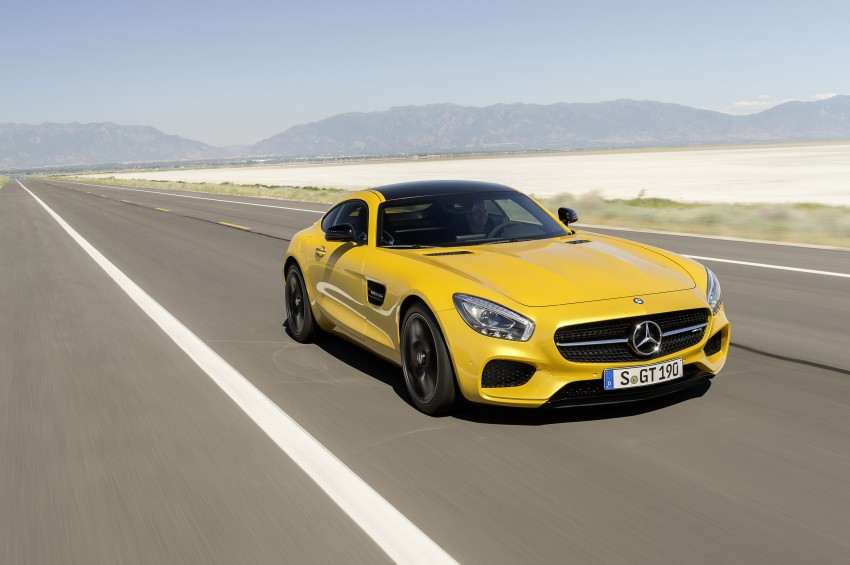 Mercedes-AMG GT – the 911 fighter is finally revealed Image #270504