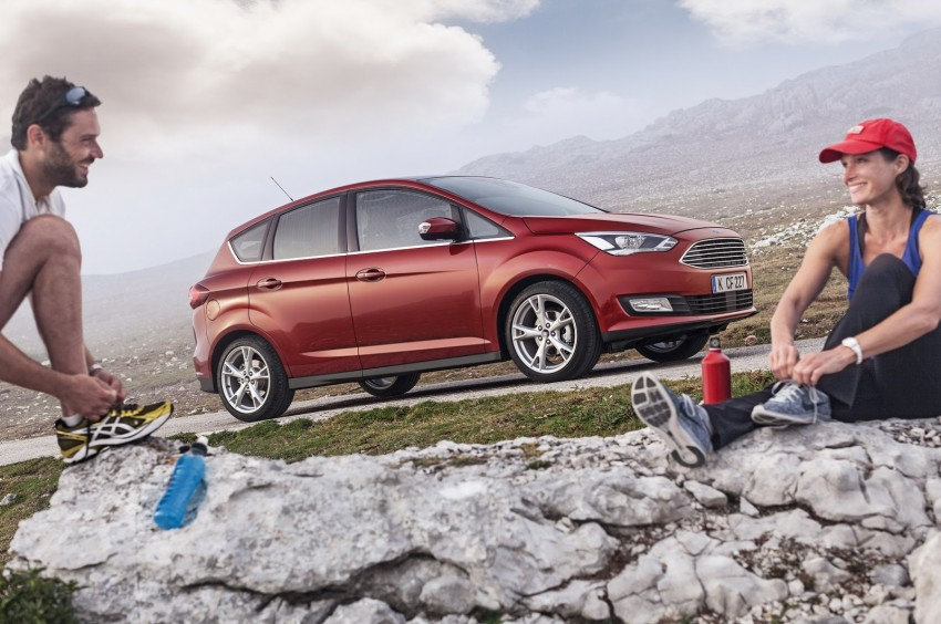 Ford C-MAX and Grand C-MAX – facelifted MPVs debut Image #272506