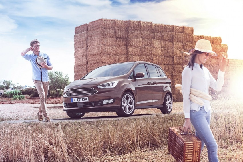 Ford C-MAX and Grand C-MAX – facelifted MPVs debut Image #272507
