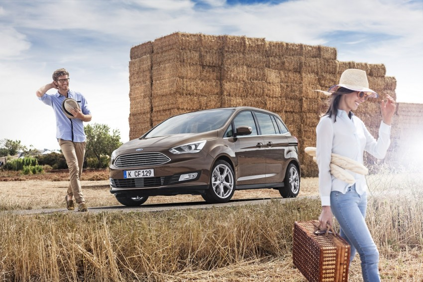 Ford C-MAX and Grand C-MAX – facelifted MPVs debut Image #272508