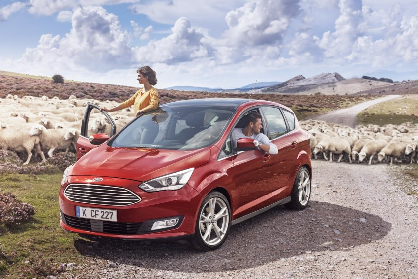 Ford C-MAX and Grand C-MAX – facelifted MPVs debut Image #272509
