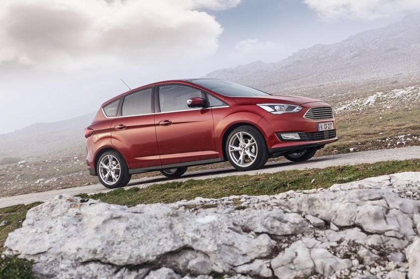 Ford C-MAX and Grand C-MAX – facelifted MPVs debut Image #272511