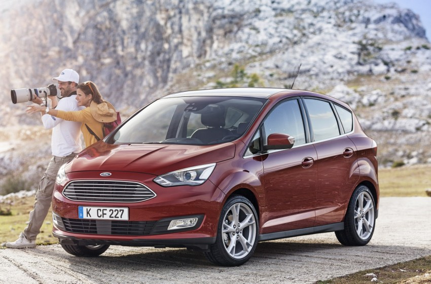 Ford C-MAX and Grand C-MAX – facelifted MPVs debut Image #272512