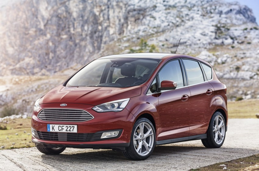 Ford C-MAX and Grand C-MAX – facelifted MPVs debut Image #272513
