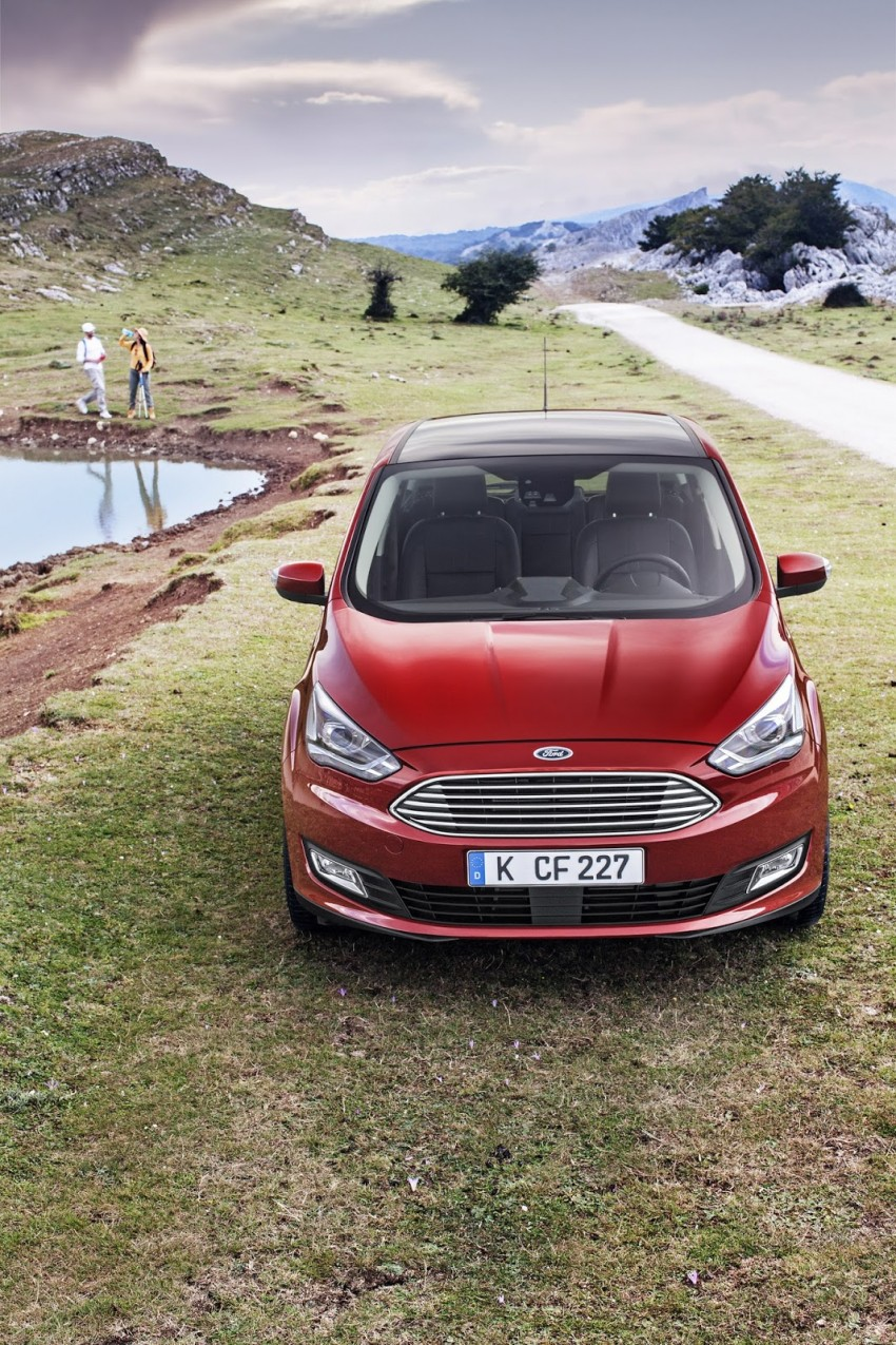 Ford C-MAX and Grand C-MAX – facelifted MPVs debut Image #272515