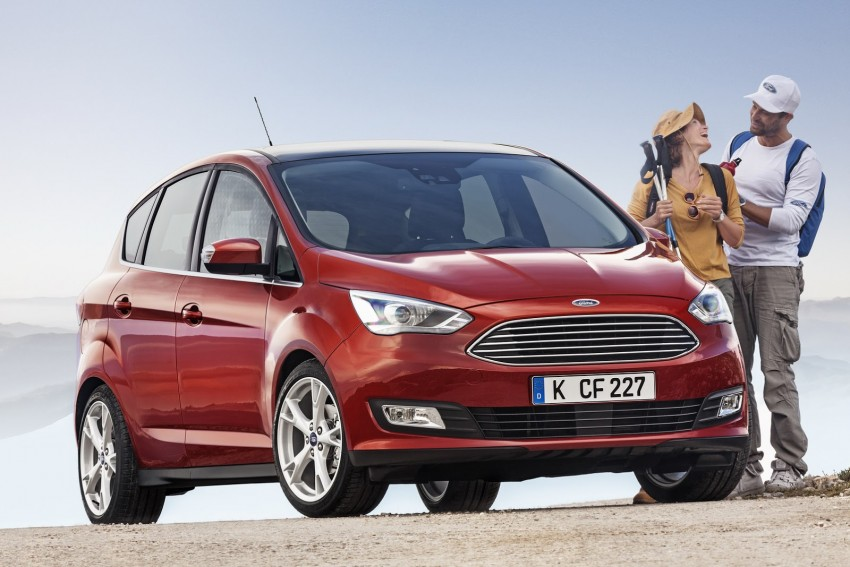 Ford C-MAX and Grand C-MAX – facelifted MPVs debut Image #272516