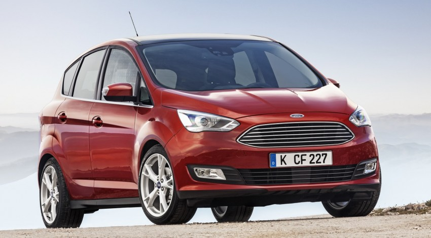 Ford C-MAX and Grand C-MAX – facelifted MPVs debut Image #272517