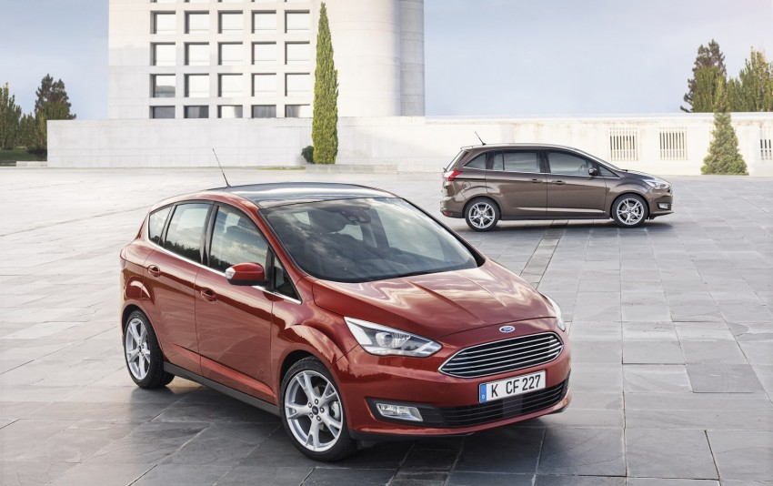 Ford C-MAX and Grand C-MAX – facelifted MPVs debut Image #272520