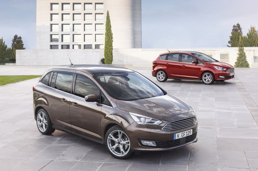 Ford C-MAX and Grand C-MAX – facelifted MPVs debut Image #272521
