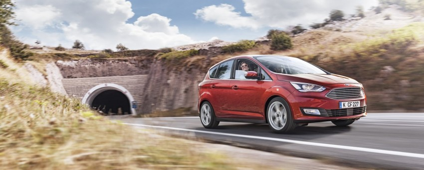 Ford C-MAX and Grand C-MAX – facelifted MPVs debut Image #272522