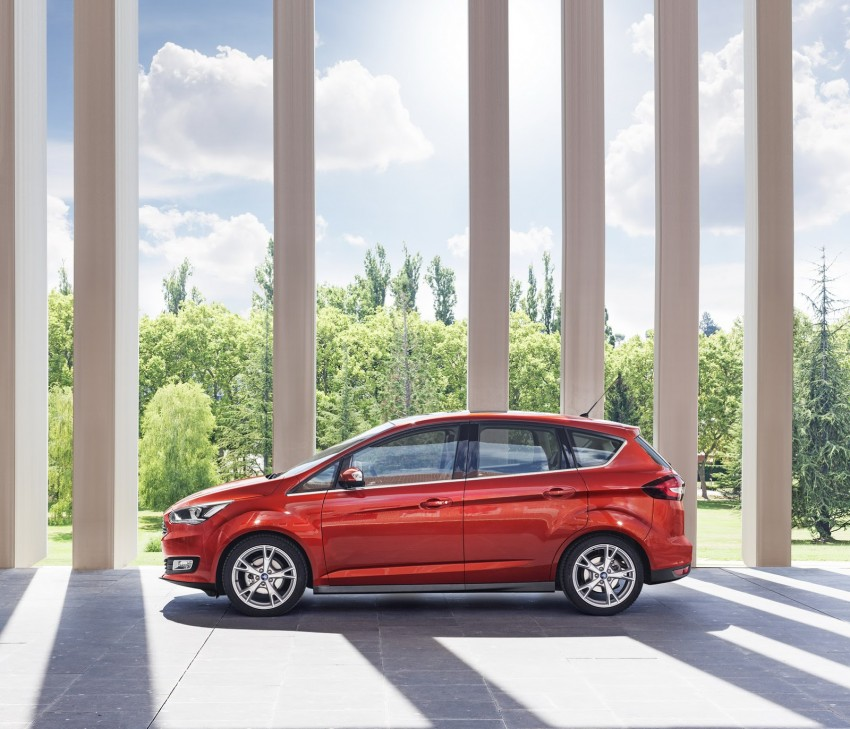 Ford C-MAX and Grand C-MAX – facelifted MPVs debut Image #272525