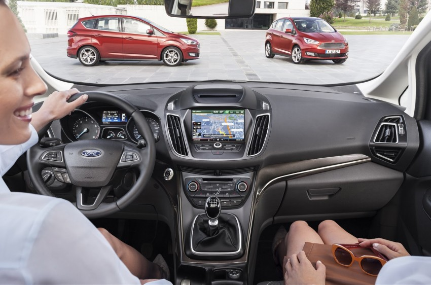 Ford C-MAX and Grand C-MAX – facelifted MPVs debut Image #272526