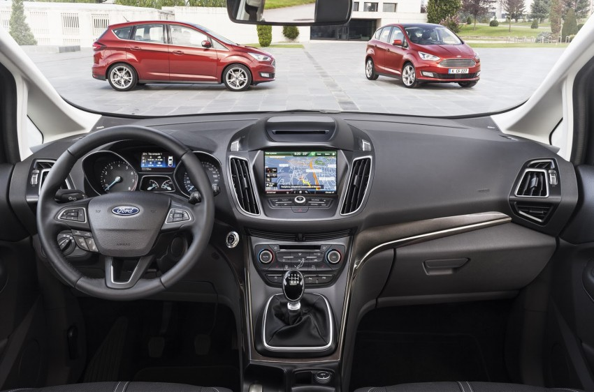 Ford C-MAX and Grand C-MAX – facelifted MPVs debut Image #272529