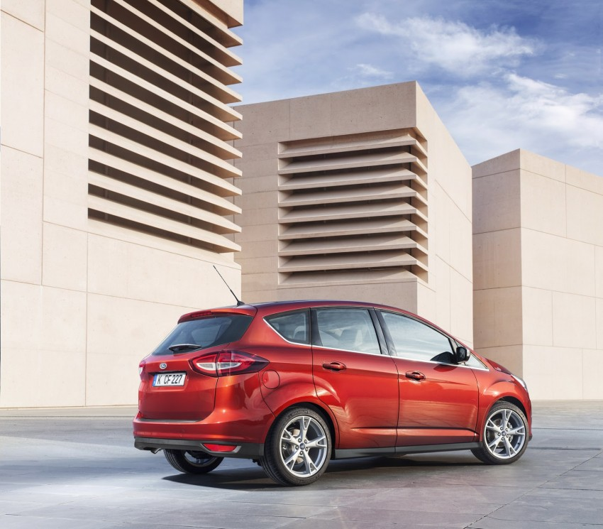 Ford C-MAX and Grand C-MAX – facelifted MPVs debut Image #272530