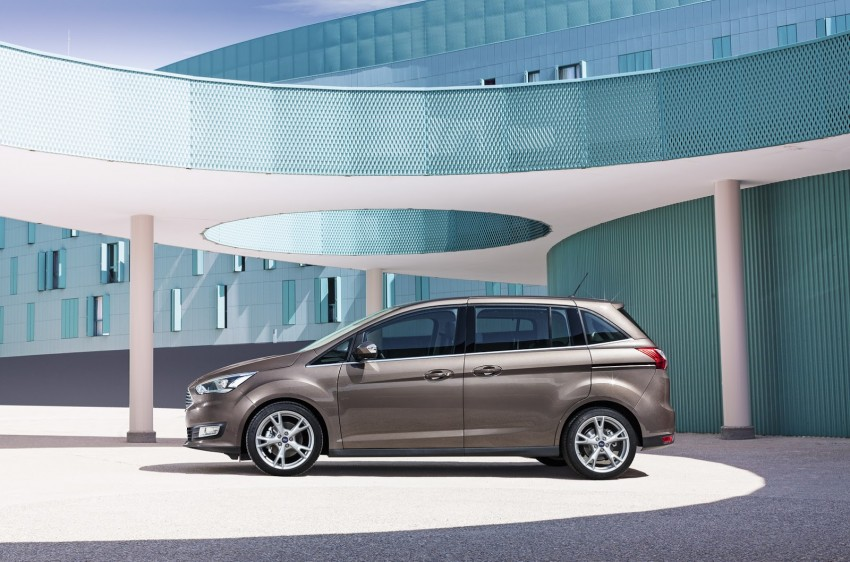 Ford C-MAX and Grand C-MAX – facelifted MPVs debut Image #272531