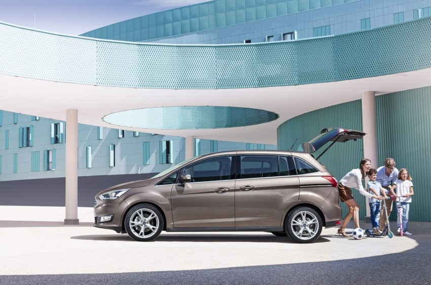 Ford C-MAX and Grand C-MAX – facelifted MPVs debut Image #272532