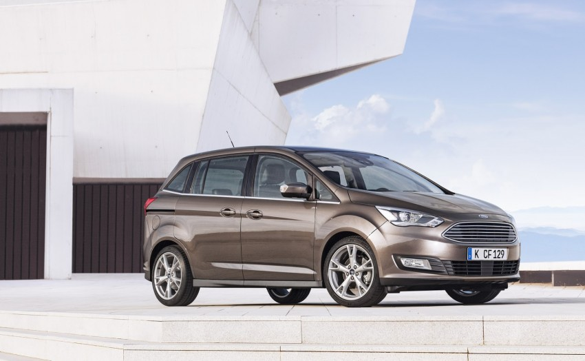 Ford C-MAX and Grand C-MAX – facelifted MPVs debut Image #272535