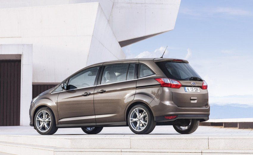 Ford C-MAX and Grand C-MAX – facelifted MPVs debut Image #272536