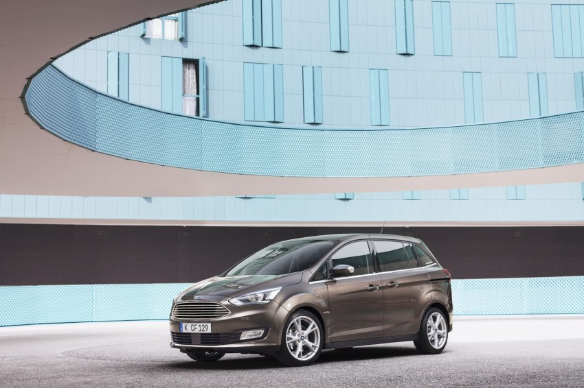 Ford C-MAX and Grand C-MAX – facelifted MPVs debut Image #272539