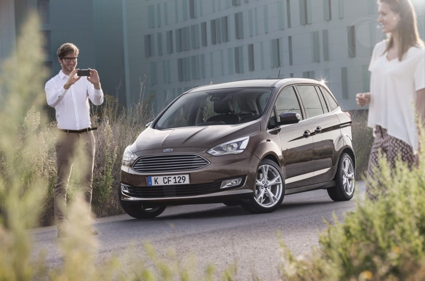 Ford C-MAX and Grand C-MAX – facelifted MPVs debut Image #272540