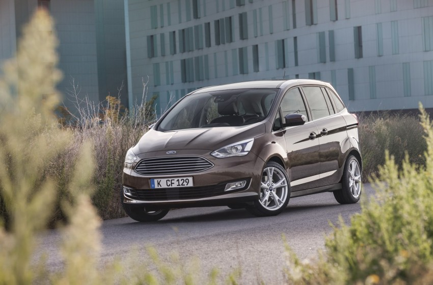 Ford C-MAX and Grand C-MAX – facelifted MPVs debut Image #272541